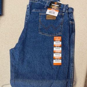 Brand new wrangler flame resistant jeans